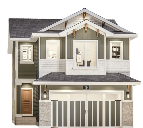 The Artisan Floor Plan - Craftsman Elevation