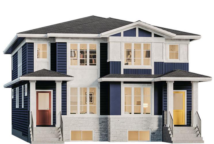 Duplex - Carr Elevation