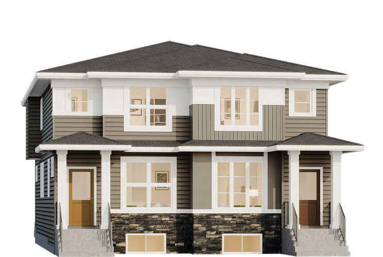 Duplex - Fitzgerald Elevation
