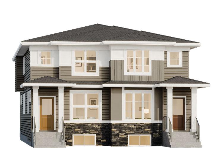 Duplex - Fitzgerald Elevation
