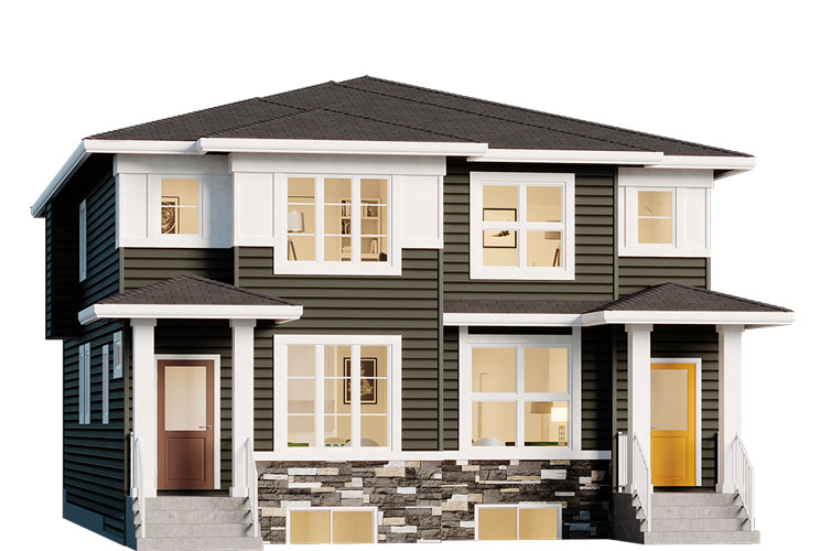 Duplex - Harris Elevation