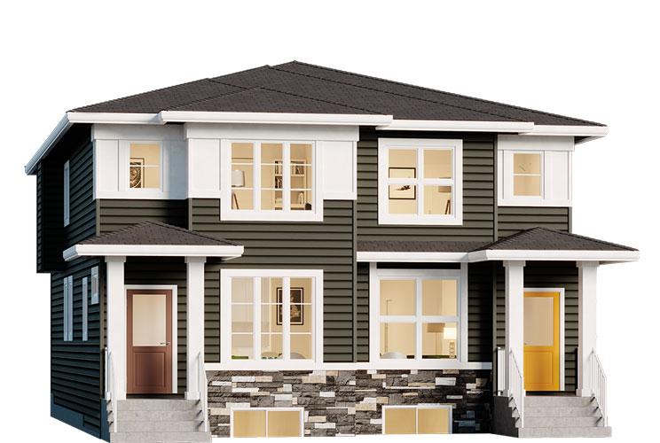 Duplex - Harris Elevation