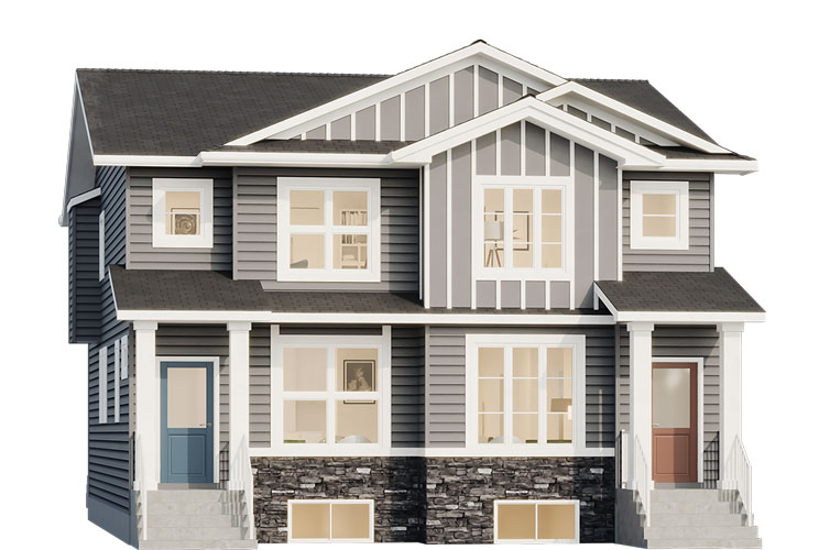 Duplex - Jackson Elevation