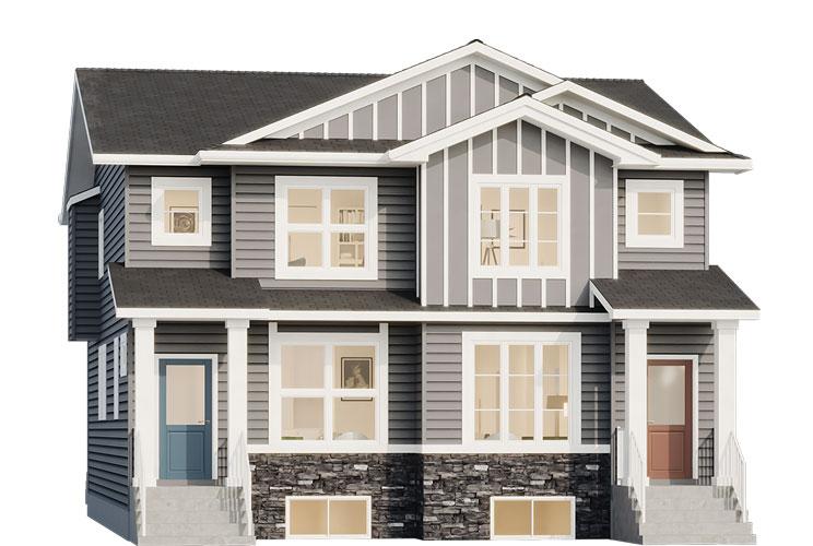 Duplex - Jackson Elevation