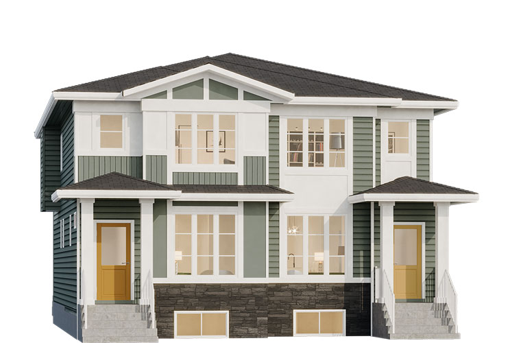 Duplex - Thomson Elevation