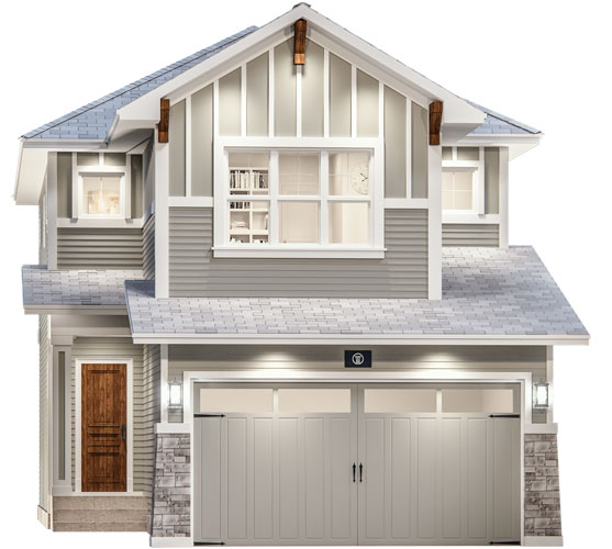The Candid Floor Plan - Craftsman Elevation