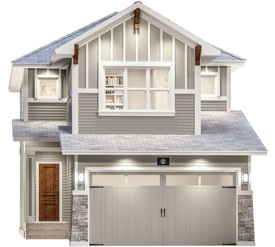 The Opal Floor Plan - Craftsman Elevation