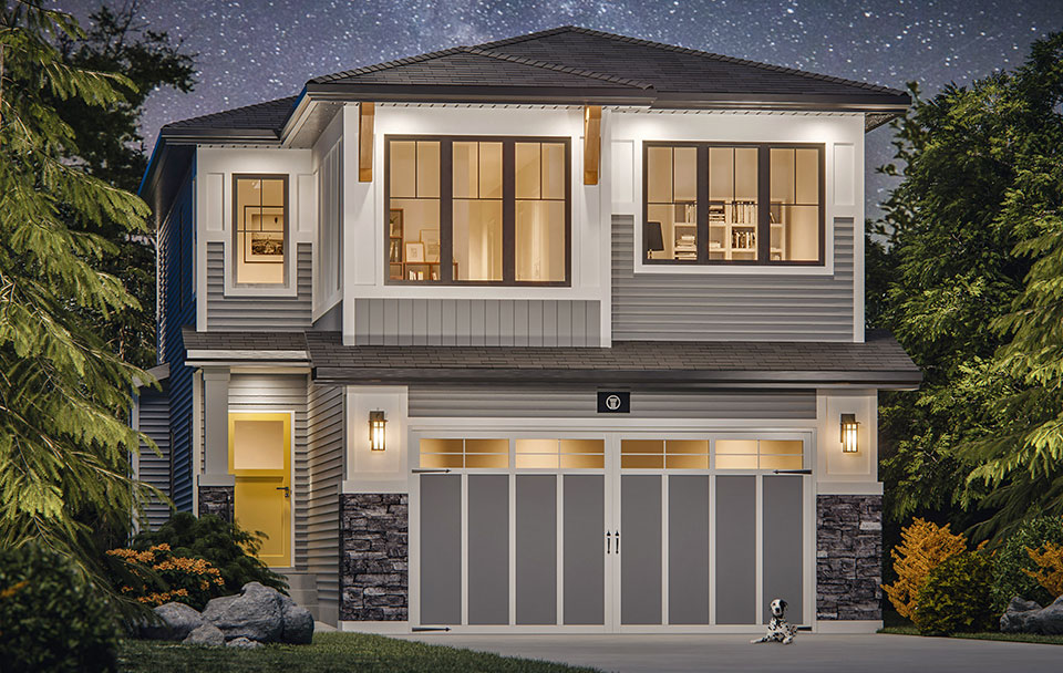 The Twilight Floor Plan - Craftsman Elevation