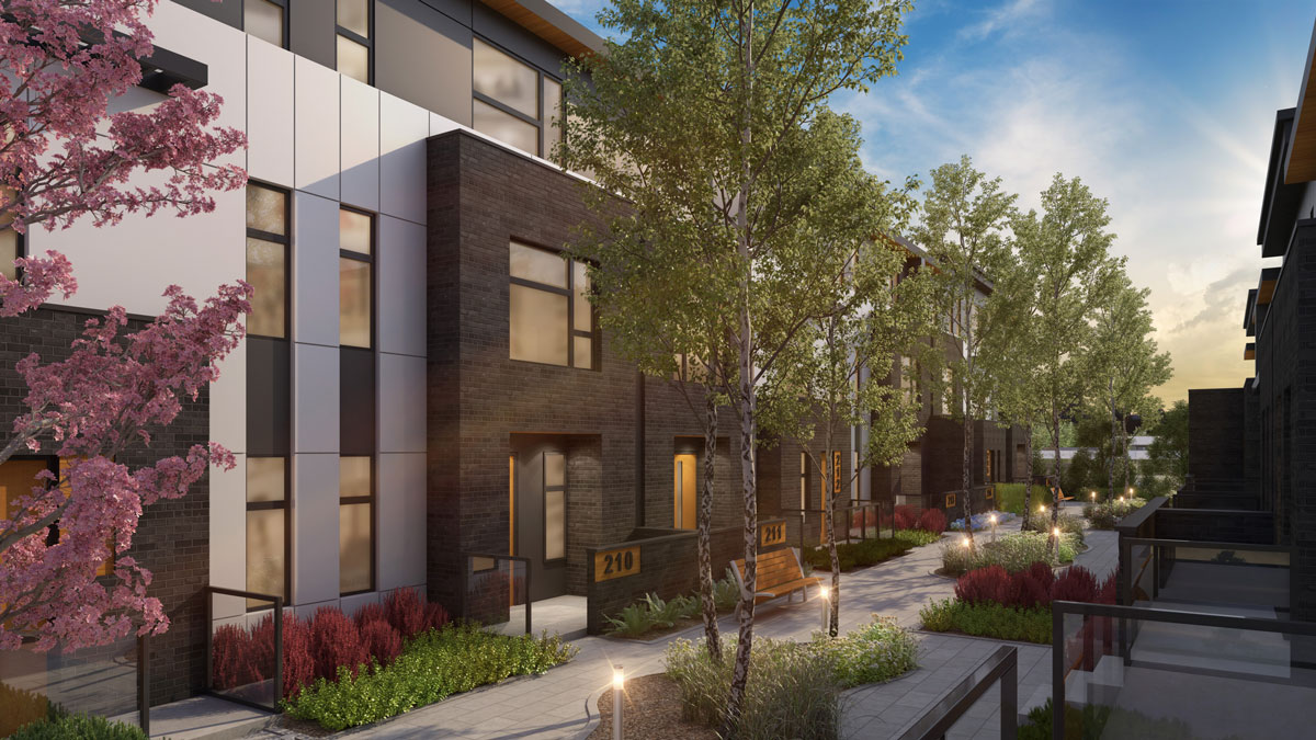 Wilshire - New Exclusive Townhomes in Calgary