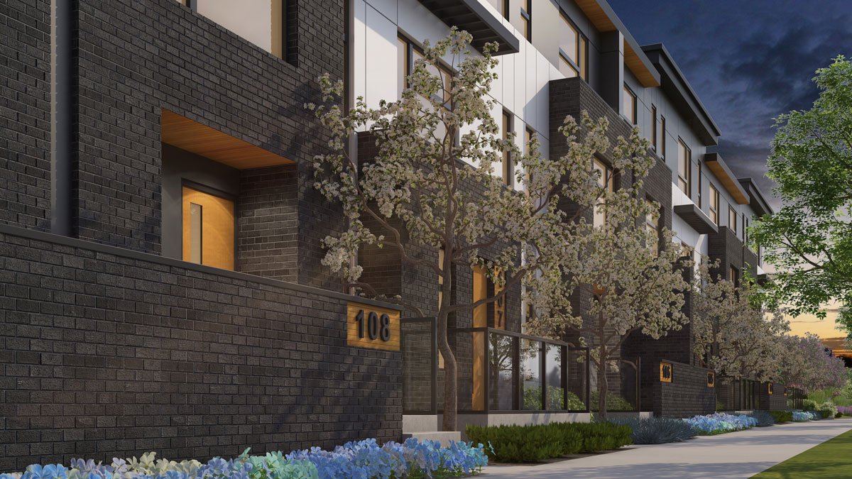 Wilshire - New Exclusive Townhomes in Calgary - West District