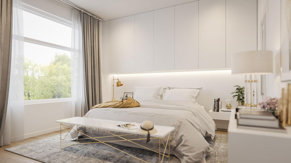 Wilshire - New Exclusive Townhomes in Calgary - Interior - Bedroom