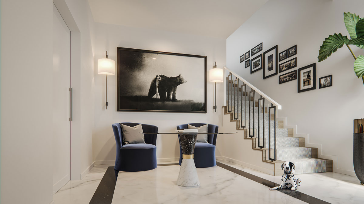 Wilshire - New Townhomes in Calgary - Interior - Foyer