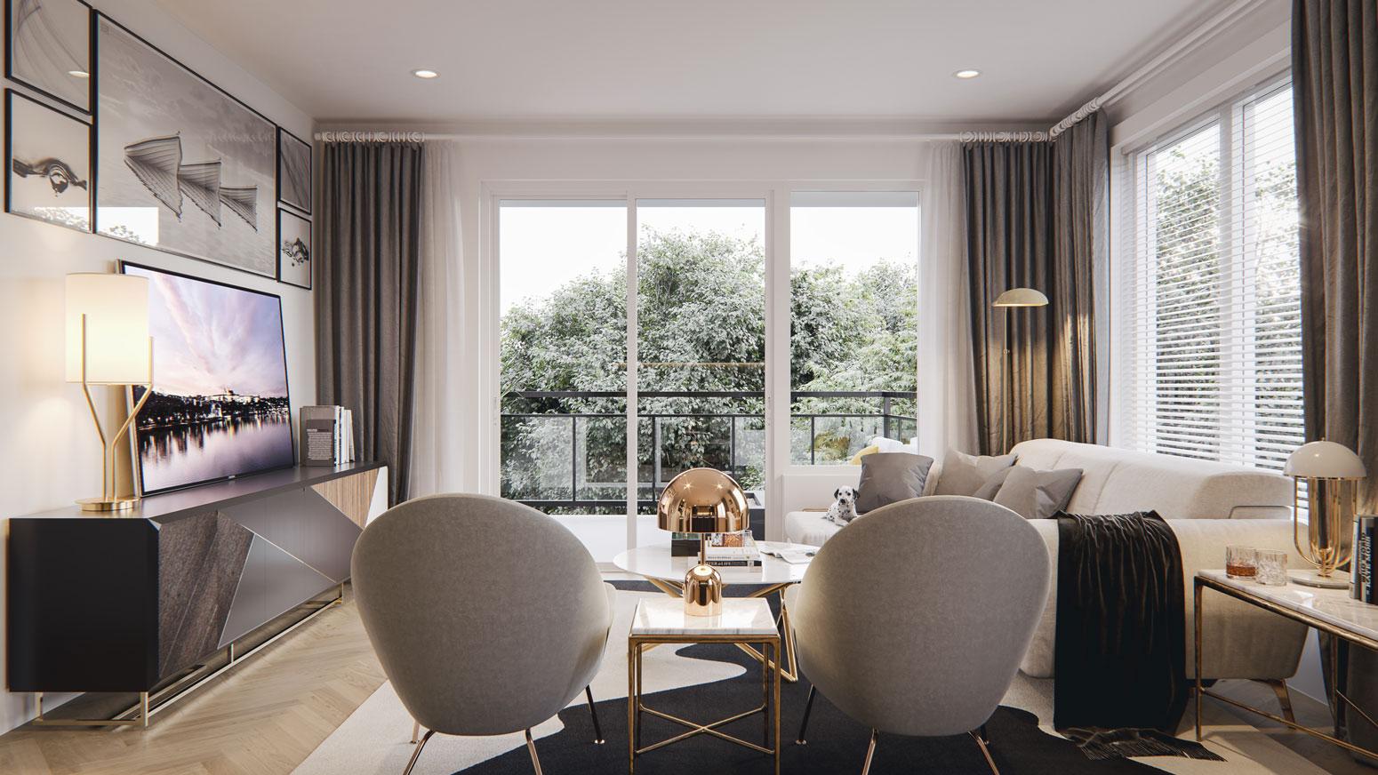 Esquire - Interiors - Living Space