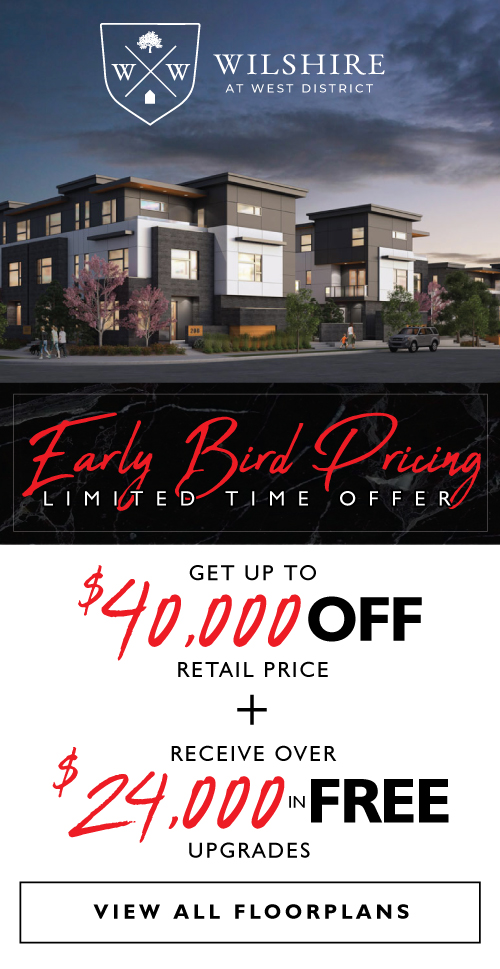 Wilshire - Early Bird Pricing Special
