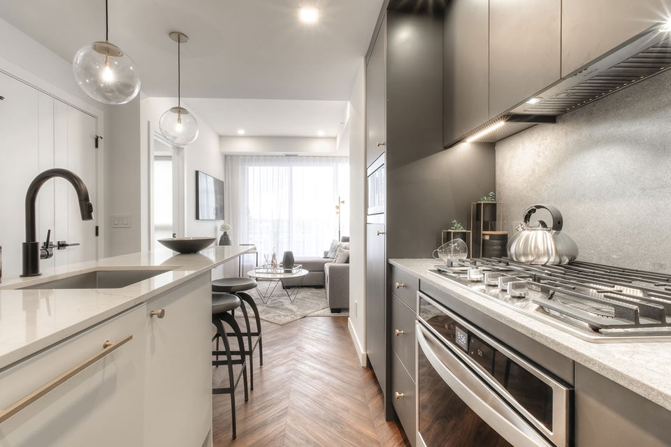 Gateway Condos - Interiors - Kitchen
