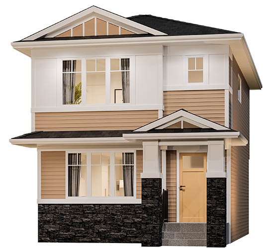 Single Family Homes in Chelsea - By Truman - Craftsman Elevation