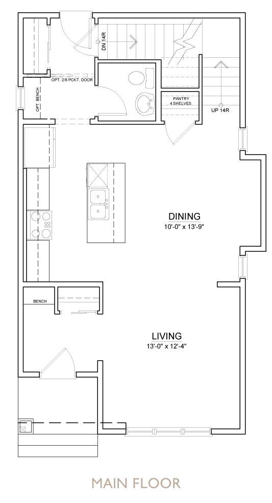 Truman - Chelsea - Indigo Floor Plan Main
