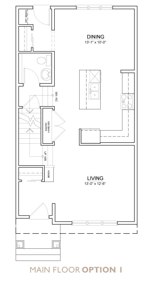 Truman - Chelsea - Fern Floor Plan Main 1