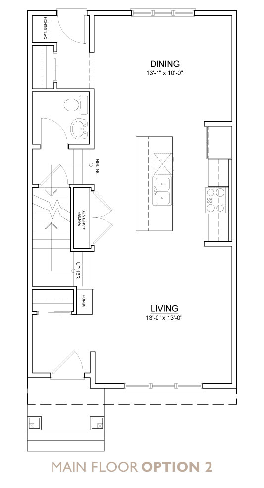 Truman - Chelsea - Fern Floor Plan Main 2