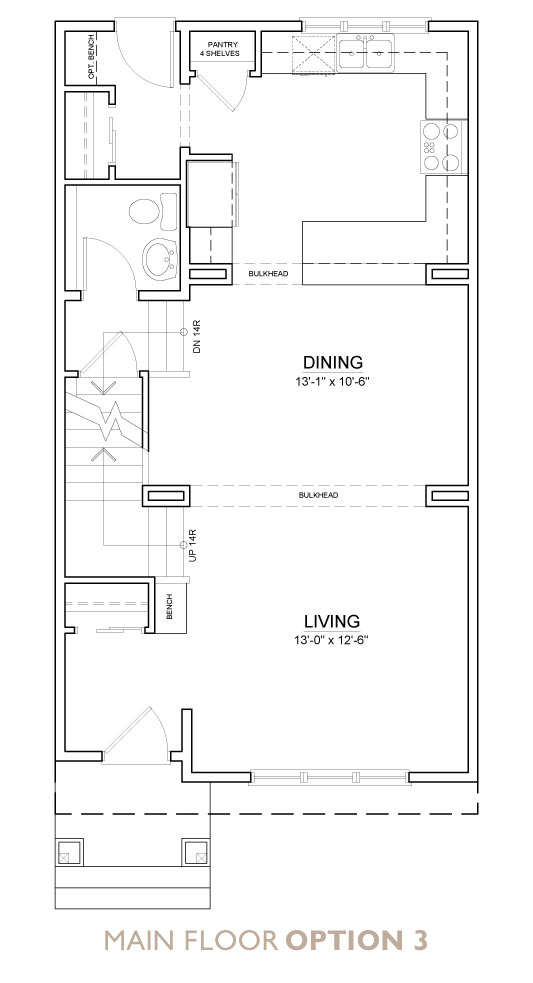Truman - Chelsea - Fern Floor Plan Main 3
