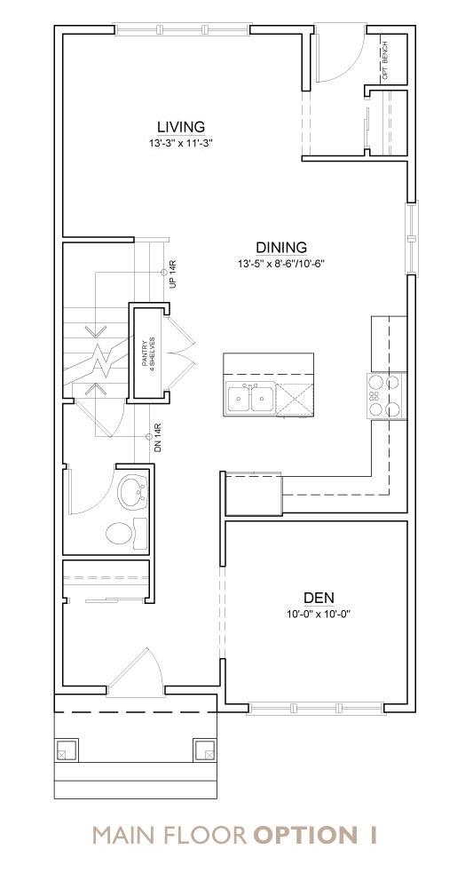Truman - Chelsea - Senna Floor Plan Main 1