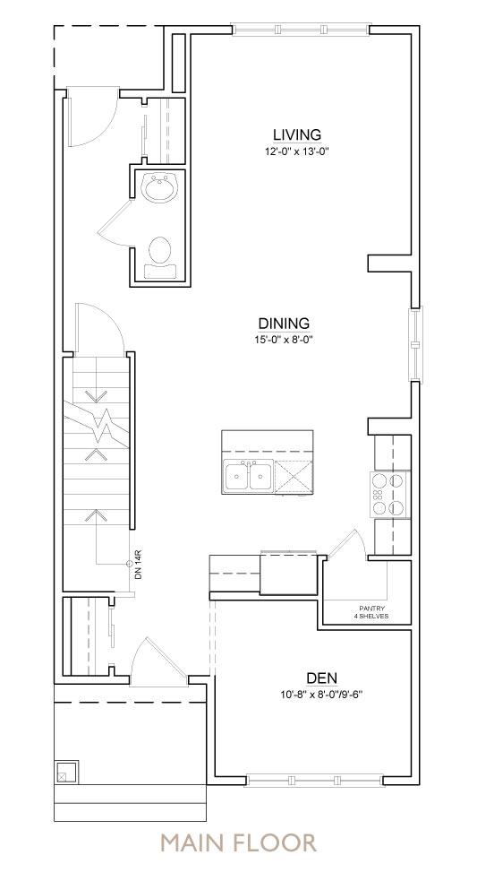 Truman - Chelsea - Bluestem Floor Plan Main