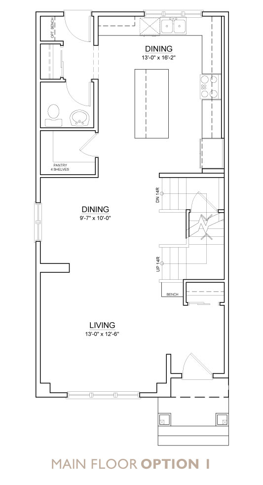 Truman - Chelsea - Snowberry Floor Plan Main 1