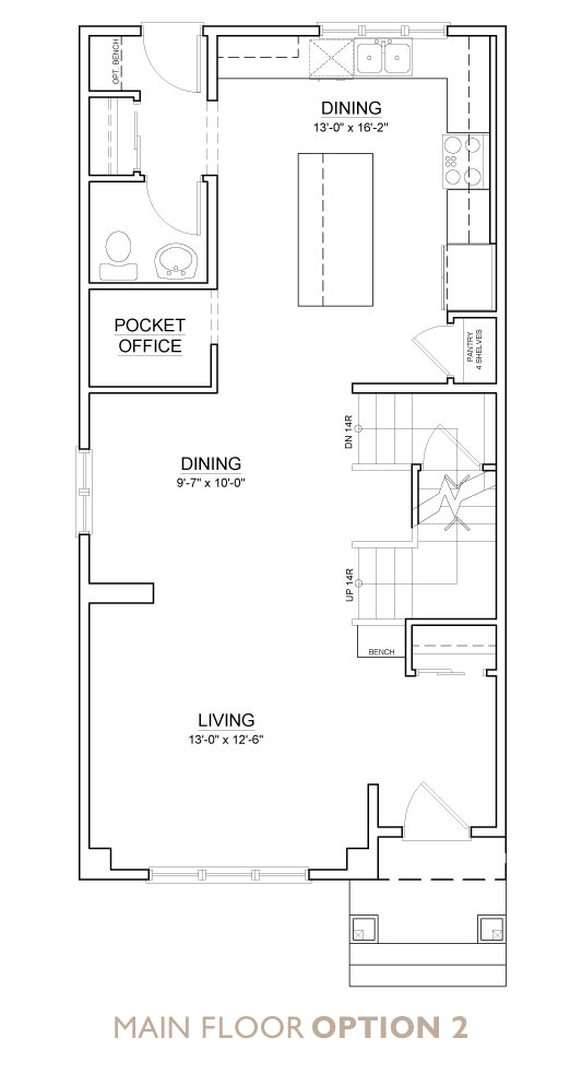 Truman - Chelsea - Snowberry Floor Plan Main 2