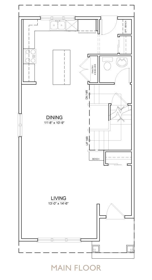 Truman - Chelsea - Bellflower Floor Plan Main