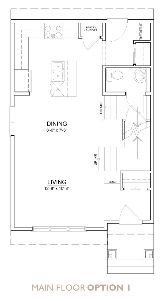Truman - Chelsea - Aster Floor Plan Main 1