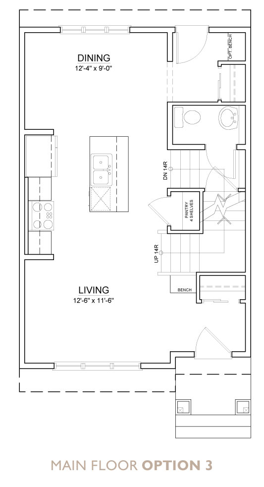 Truman - Chelsea - Aster Floor Plan Main 3