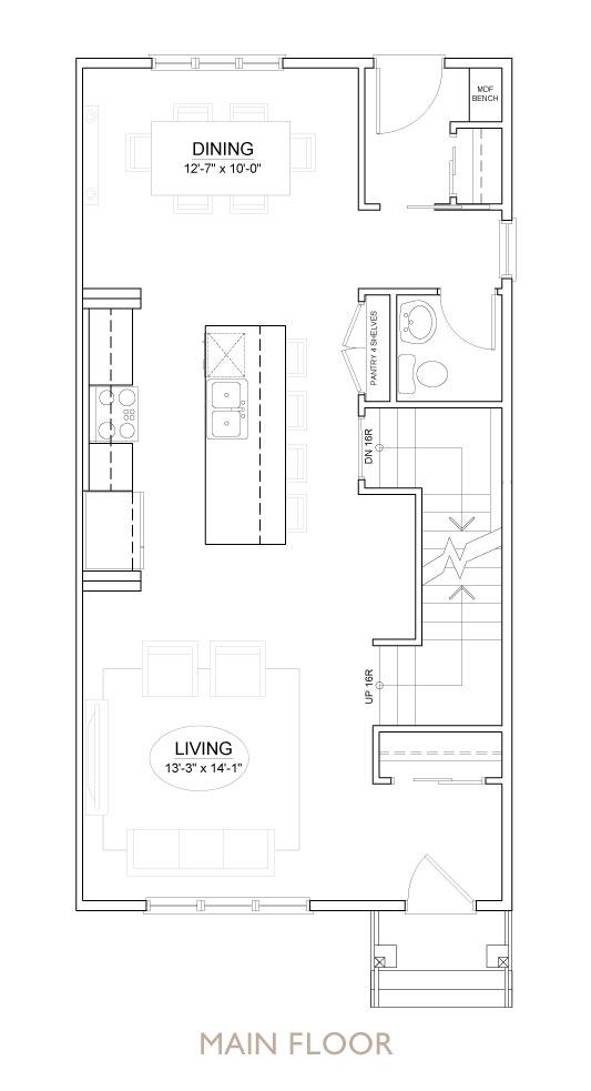 Truman - Chelsea - Sage II Floor Plan Main