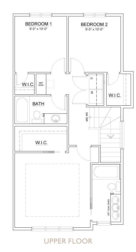 Truman - Chelsea - Sage II Floor Plan Upper