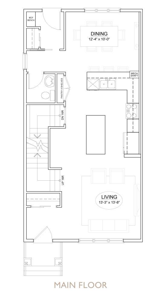 Truman - Chelsea - Sage Floor Plan Main 1