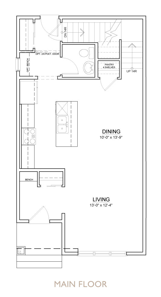Truman - Chelsea - Willow Floor Plan Main