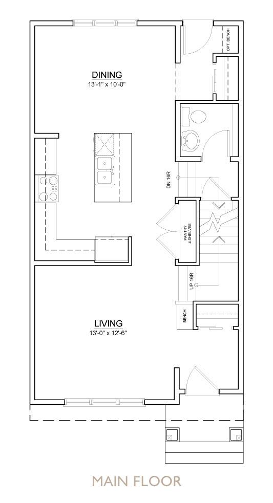 Truman - Chelsea - Yarrow Floor Plan Main