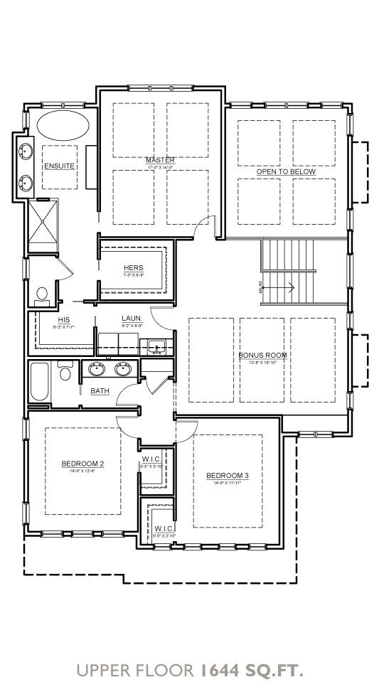 Canyon Floor Plan - Upper Floor