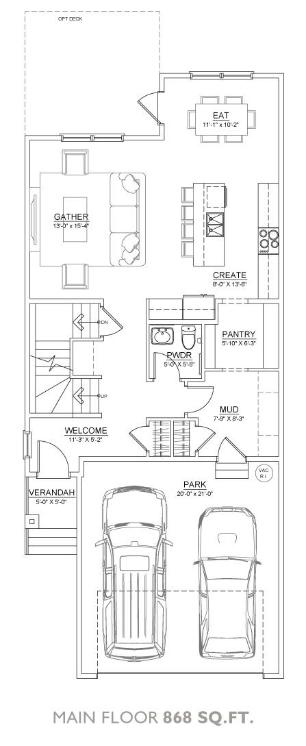 Dell Floor Plan - Main Floor