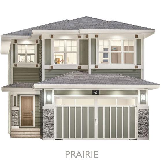 Single Family Estate Homes - By Truman - Prairie Elevation