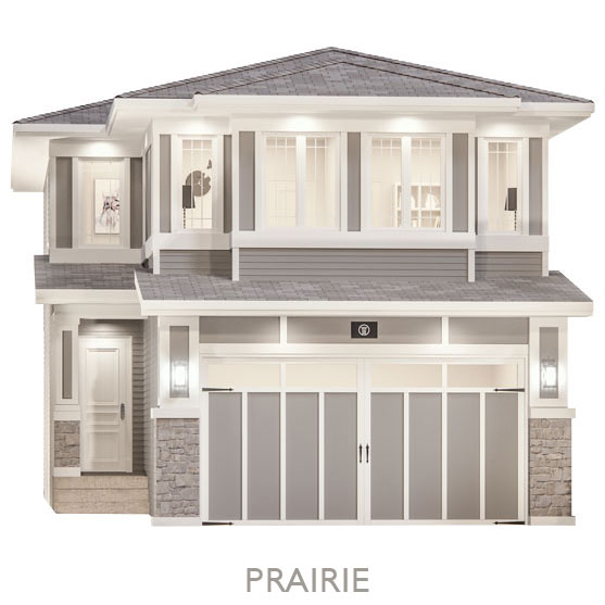 Single Family Estate Homes - By Truman - Prairie Elevation