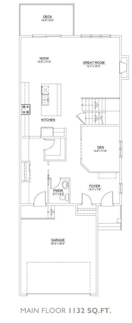 Mystic Floor Plan - Main