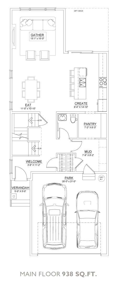 Spring Floor Plan - Main Floor