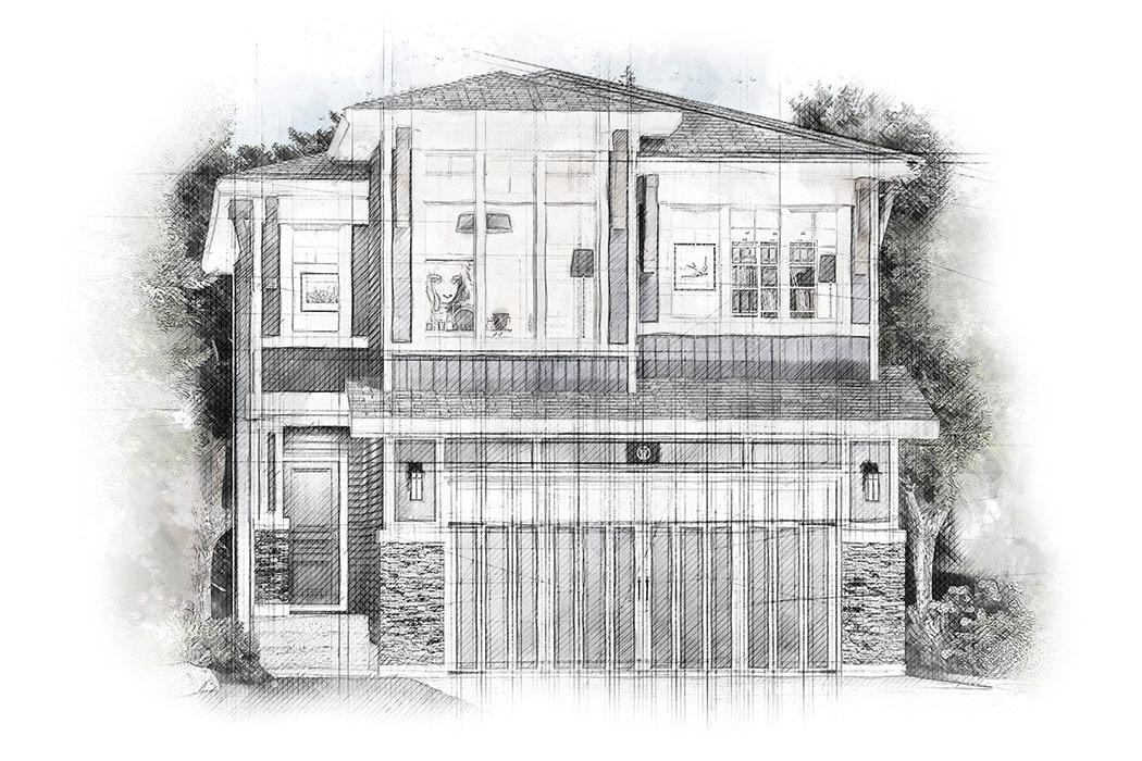 Estate Homes by Truman - The Woodland II Floor Plan