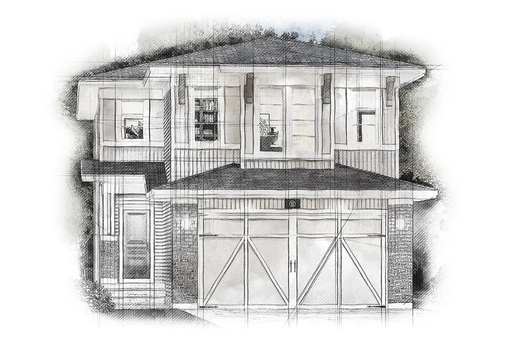 Estate Homes by Truman - The Woodland Floor Plan