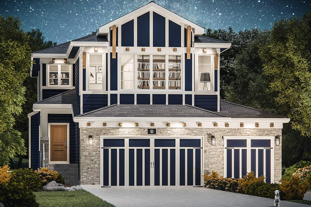 Valley Estate Homes by Truman - The Glacier Floor Plan