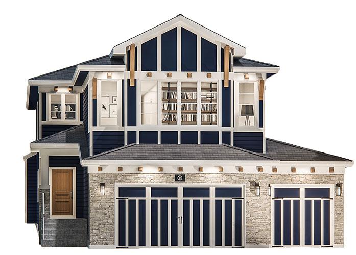 Springbank Hill - Valley Estate Homes - By Truman - Glacier