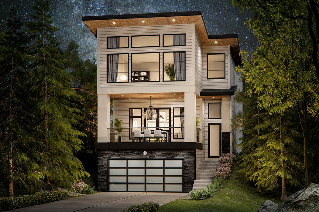 Estate Homes - By Truman - the Bellevue