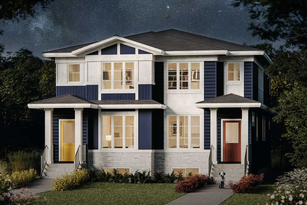Truman Duplex - Cornerstone - Jasper