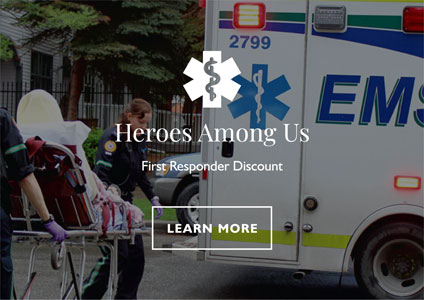 Heroes Among Us - First Responder Discount at TRUMAN Homes