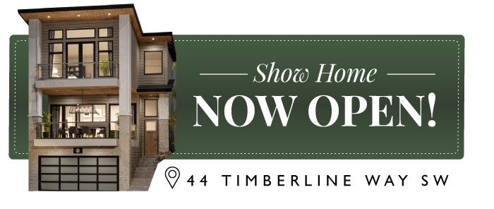 Timberline Estates Show Home by TRUMAN NOW OPEN